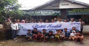 MNC Play Adakan Bakti Sosial Bersama Anak Yatim di Semarang
