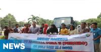 250 Karyawan PT Angkasa Pura II Ikut Mudik Gratis