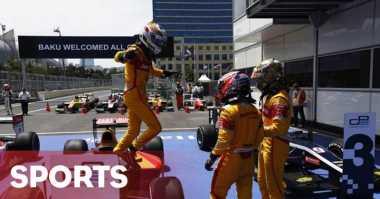 Persahabatan Tiga Pembalap GP2