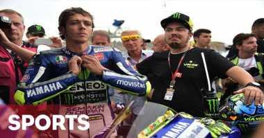 Valentino Rossi Tampil Terlalu Menekan di GP Belanda