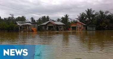 Enam Kecamatan di Pasuruan Masih Tergenang Banjir