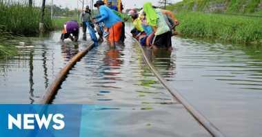 KA Mutiara Timur Batal Berangkat Akibat Banjir di Pasuruan, Ratusan Pemudik Terlantar
