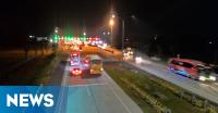 INFO MUDIK: Antrean Kendaraan di Gerbang Tol Palimanan Ramai Lancar