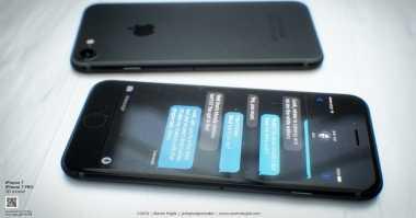 Muncul Konsep  iPhone 7 dengan Dark Space Gray