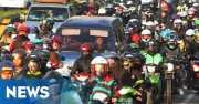 INFO MUDIK: Malam Ini, Pemudik Motor Diprediksi Banjiri Jalan Kalimalang
