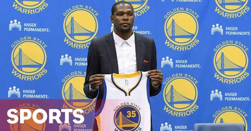 Kevin Durant: Saya Bahagia Bisa Bergabung dengan Warriors