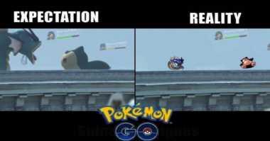 Meme Terbaru Pokemon Go Bikin Ngakak