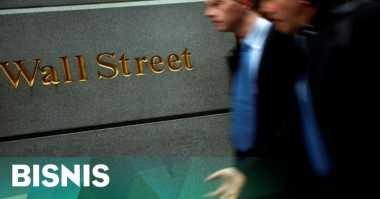 \Saham Telekomunikasi Topang Penguatan Wall Street\