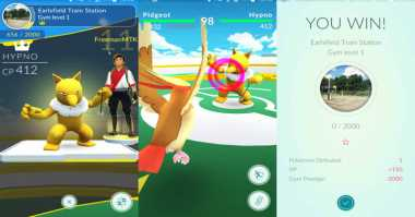 Tips Pokemon Go: Cara Bertarung di Gym