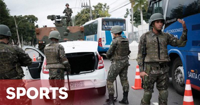 Polisi Brasil Tangkap 10 Terduga Teroris Olimpiade Rio