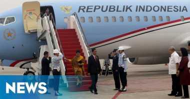 Jokowi Bertolak ke Yogyakarta Sore Ini