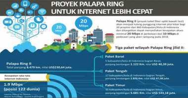 Ini Alasan Gugurnya Konsorsium Indosat-Alita-XL di Palapa Ring Paket Timur