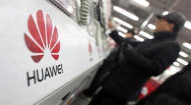 \Pendapatan Huawei Naik 40%\