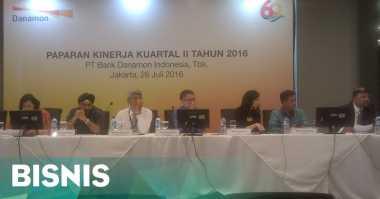 \Danamon Cetak Laba Bersih Rp1,7 Triliun di Kuartal II-2016\