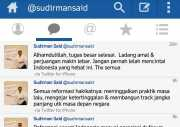 Pamit via Sosmed, Sudirman Said Jadi <i>Trending Topic</i>