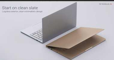 Xiaomi Mi Notebook Air Tantang Macbook Air