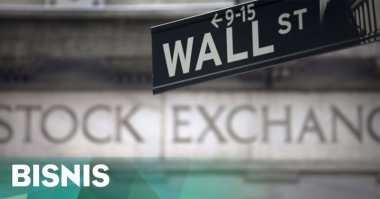 \Wall Street Menguat Ditopang Meroketnya Saham Apple\