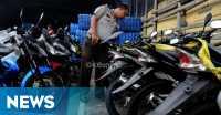 Gelar Razia demi Antisipasi Kejahatan, 34 Motor Diamankan