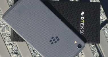 Lebih Dekat dengan DTEK 50, Ponsel Terlangsing BlackBerry