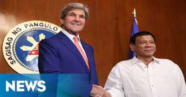 Terkait Isu LCS, Menlu AS Bertemu Presiden Filipina