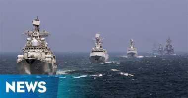 Tensi Meningkat, China dan Rusia Gelar Latihan Militer di LCS