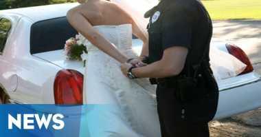 Menikah, Perempuan Ini Justru Difoto sebagai Tahanan