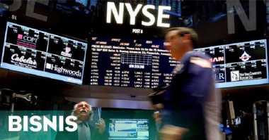 \Wall Street Melemah Pasca-Fed Tahan Suku Bunga\