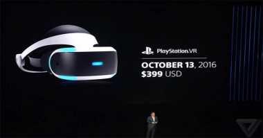 Sony Luncurkan PlayStation VR di Indonesia, Harganya?