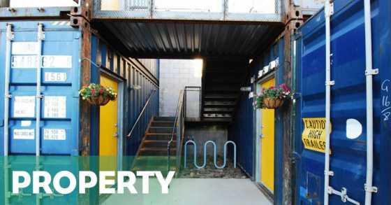 HOT PROPERTY : Apartemen dari Kontainer Dibanderol Rp13,1 Juta