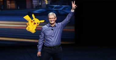 Bos Apple Salah Sebut Pokemon GO