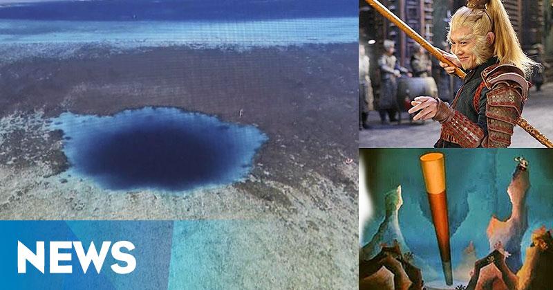 Lubang Biru Sun Go Kong Ditemukan di Laut China Selatan