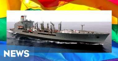 Kapal Tanker AL AS Bakal Abadikan Nama Aktivis Gay