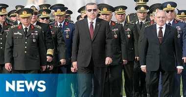 Pascakudeta, Turki Angkat 99 Jenderal dan Laksamana Baru