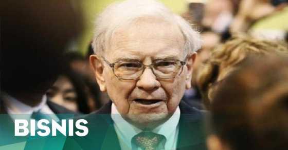 Digantikan Bos Amazon, Warren Buffet Turun Takhta dari Daftar Orang Terkaya