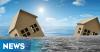Ratusan Rumah di Karawang Rusak Diterjang Banjir Rob