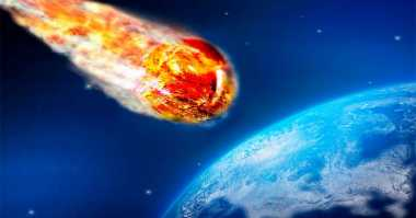 Penampakan Benda Diduga Meteor Muncul di Las Vegas