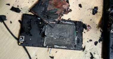 Kamera CCTV Rekam Xiaomi Mi 4i Meledak dan Terbakar