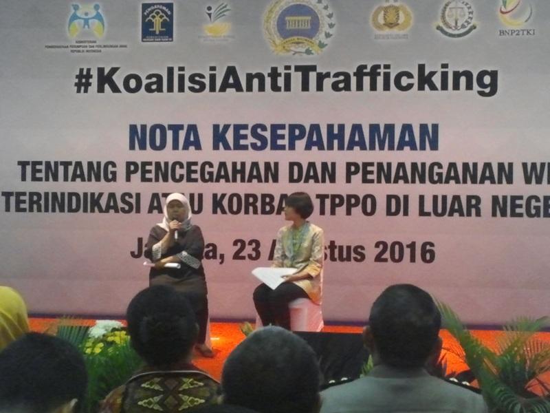Kisah WNI Korban Perdagangan Orang