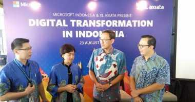 Lancarkan Transformasi Digital, XL Gandeng Microsoft
