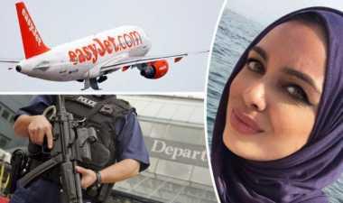 Dicurigai ISIS, Keluarga Muslim Diturunkan dari Pesawat