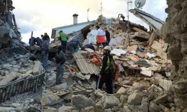 Penyebab Gempa Bumi Dahsyat Berkekuatan 6,2 SR di Italia