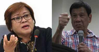 Duterte Janji Publikasikan Matriks Narkoba yang Libatkan Senatornya