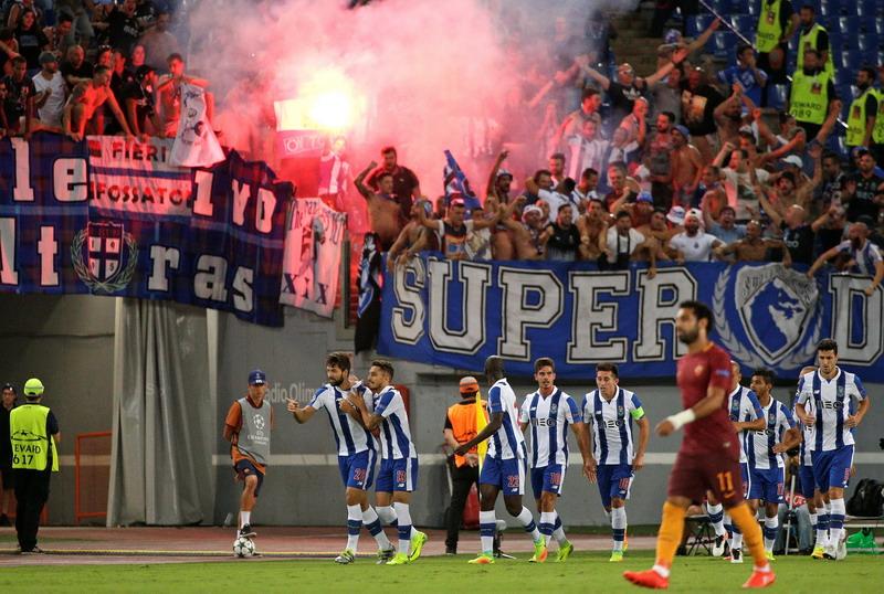 Menetralisir Serangan Roma Jadi Kunci Sukses Porto Memenangi Pertandingan