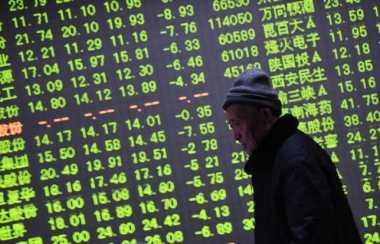 \Pasar Saham Asia Dibuka Terkoreksi Tipis   \