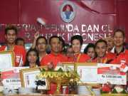 Ojek <i>Online</i> Ikut Antarkan Atlet ke Istana Negara