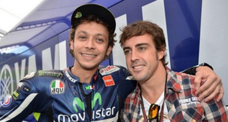 Alonso Jadikan Rossi sebagai Inspirasinya di Dunia Balap