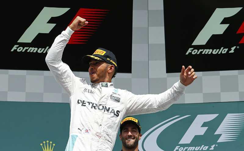 Lewis Hamilton Siap Persembahkan Kemenangan di GP Belgia untuk Fans Inggris