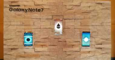 Kesan Pertama Cicip Samsung Galaxy Note 7