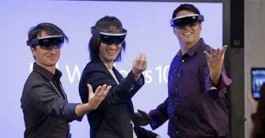 Top Techno: Rahasia Spesifikasi Microsoft HoloLens Terungkap