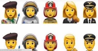 Apple Ajukan Lima Emoji Baru, Termasuk Pilot dan Astronot